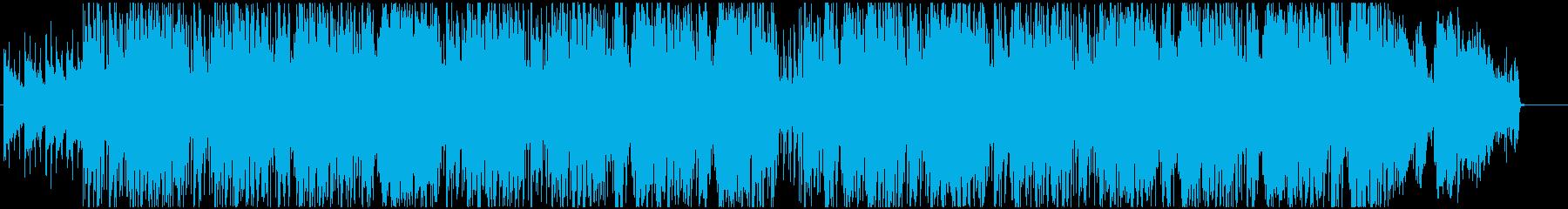 チルな女性ボーカルのチル、ヒップホップ系の再生済みの波形