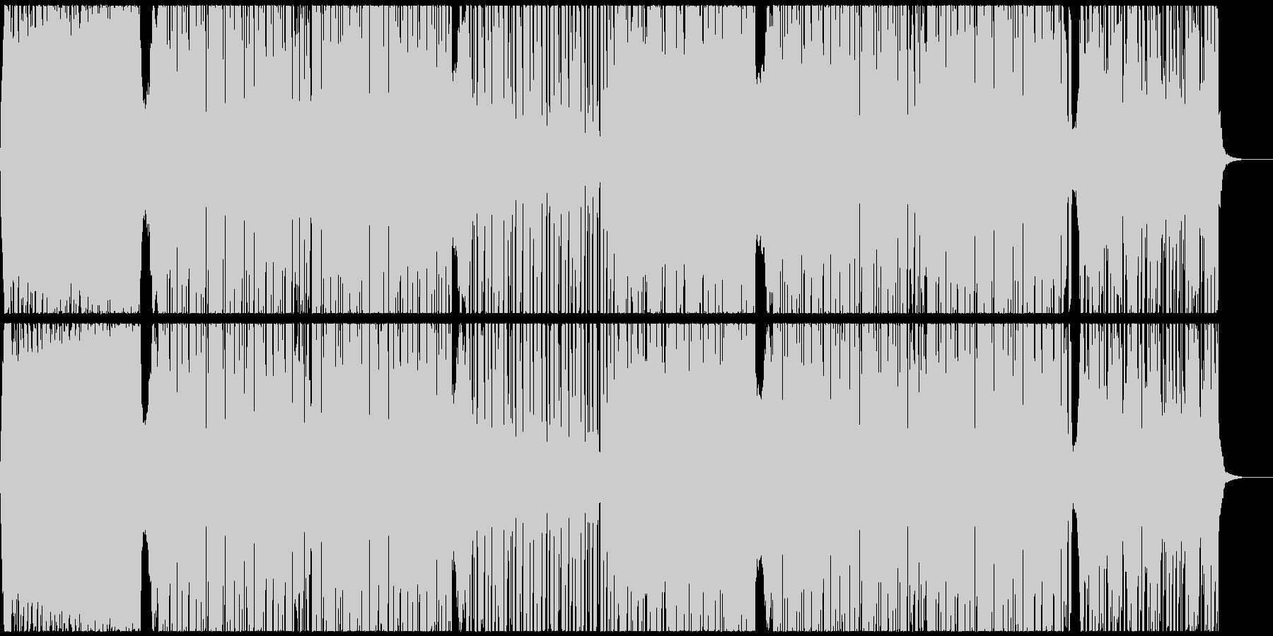 爽快スタイリッシュEDMハウス CM映像の未再生の波形