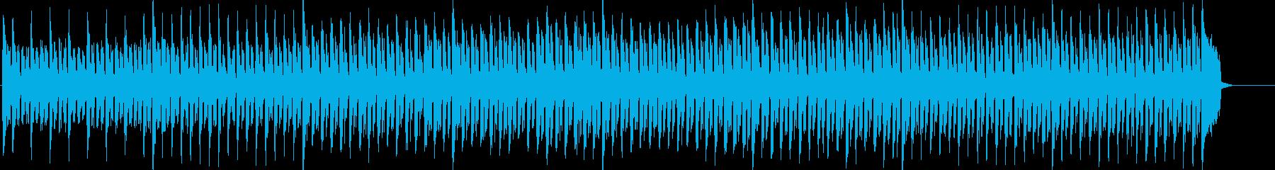 コミカルな子供向けテクノポップの再生済みの波形