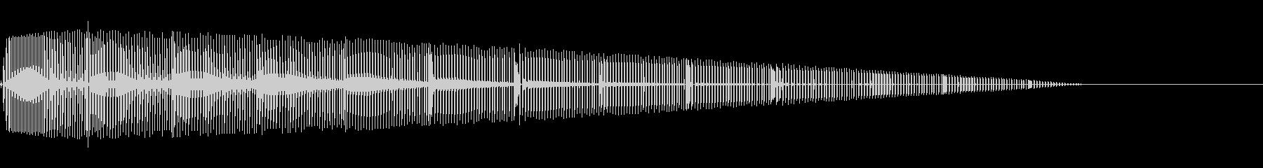 ピロロロ(エラー/ファミコン/警告ブザーの未再生の波形