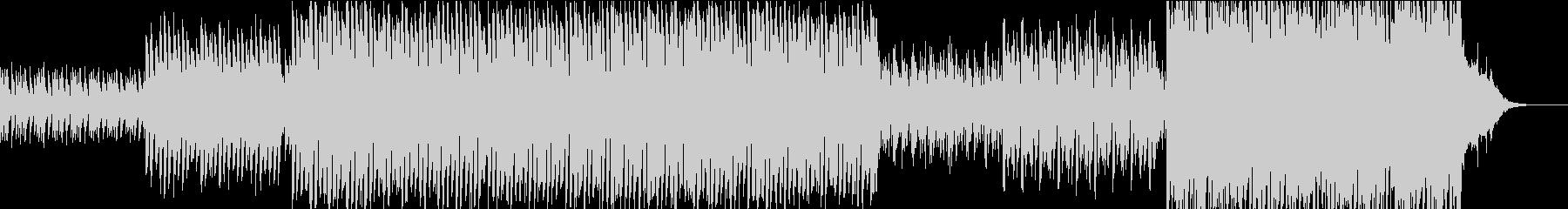 ピアノとストリングスの感動的なポップスの未再生の波形