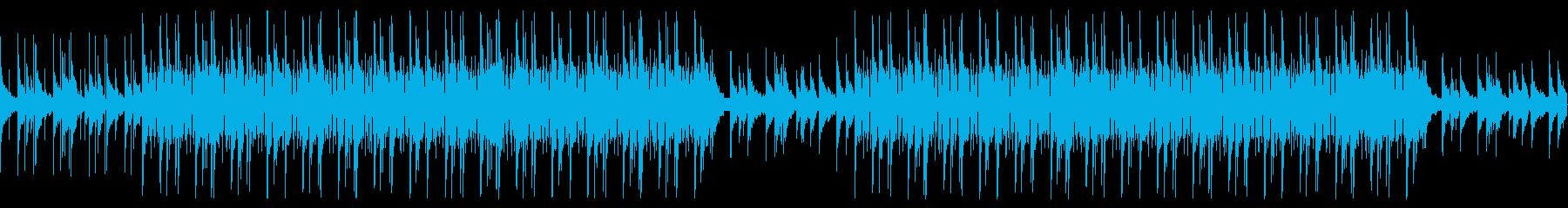 おしゃれなLofiヒップホップの再生済みの波形