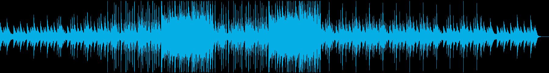 しっとりPianoのリズム安堵ブルースの再生済みの波形