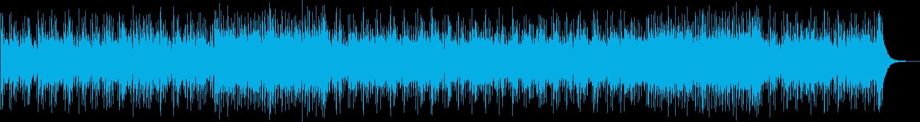 懐かしさを感じるカントリーフォークの再生済みの波形
