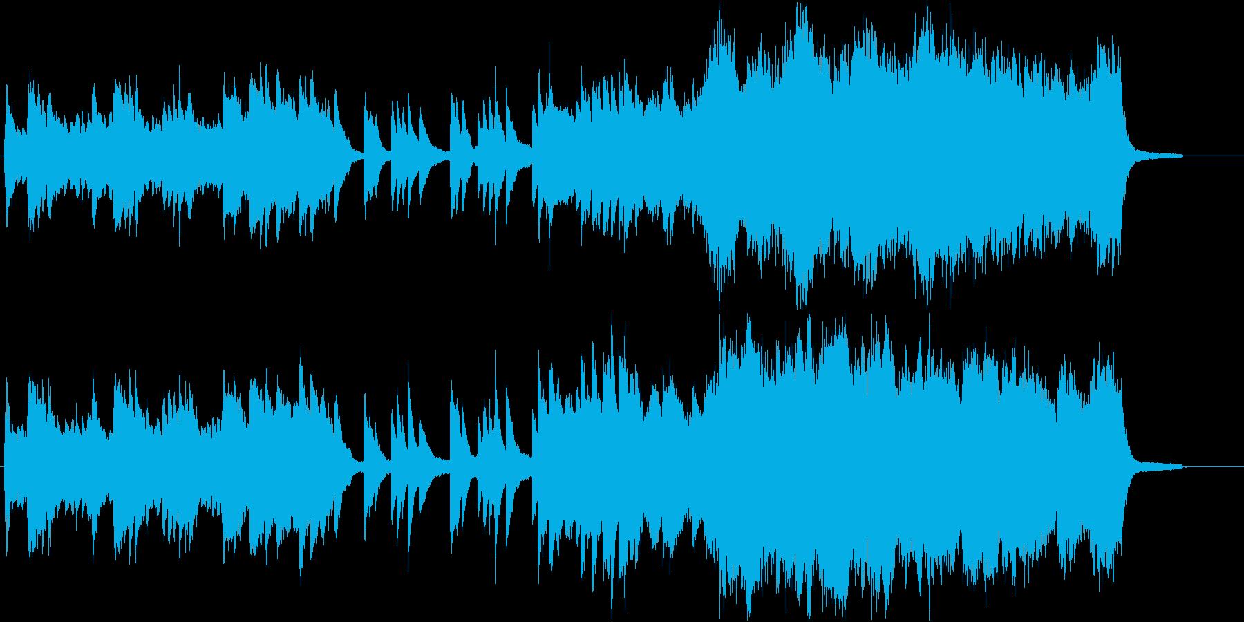 感動のオーケストラの再生済みの波形
