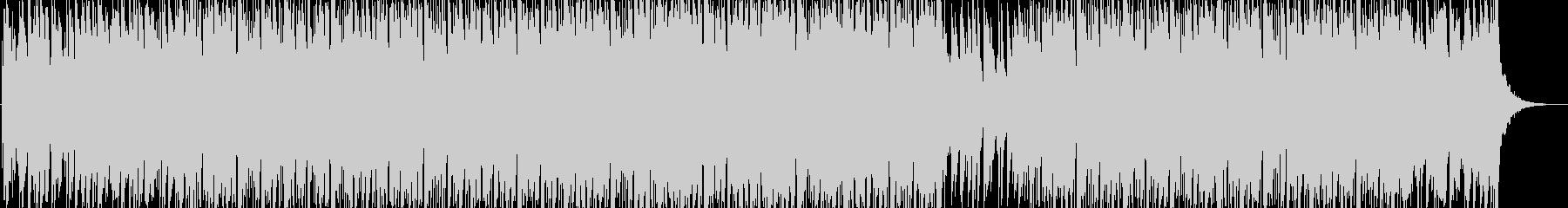 浮遊感のあるシリアスな電子音楽 longの未再生の波形