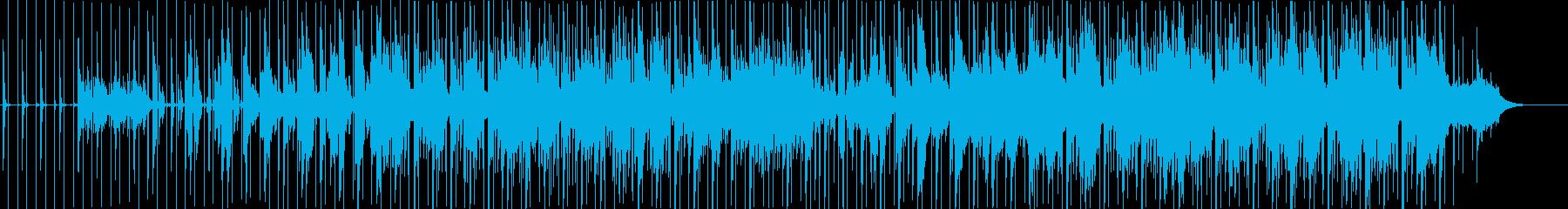 出発の再生済みの波形