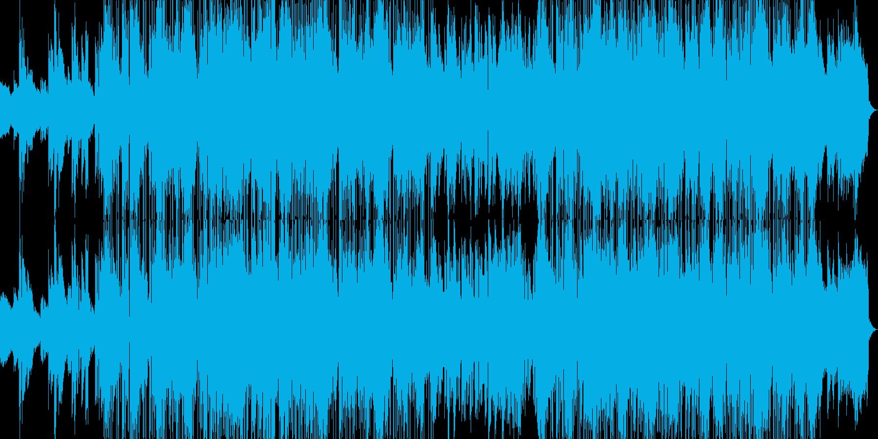クールで爽やかな大人ジャズファンクの再生済みの波形