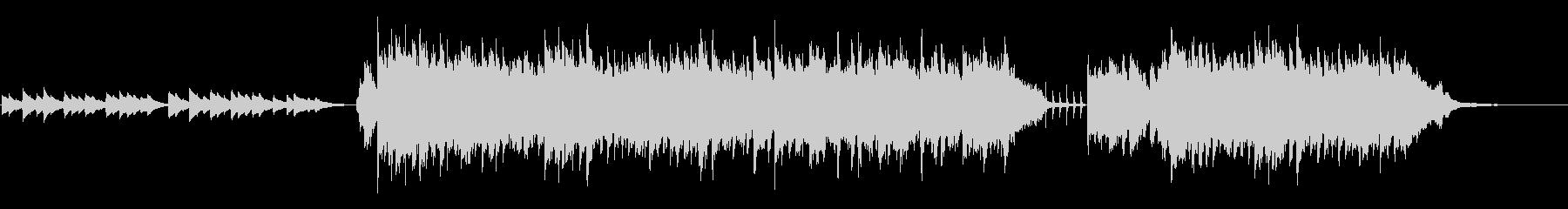 オルゴールサウンドのやさしいBGMの未再生の波形
