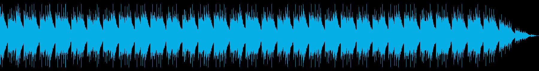切ないアコースティックギターのアルペジオの再生済みの波形