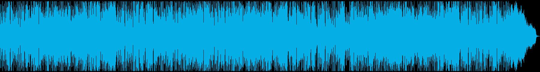 二胡の中華風エキゾチックポップジャズの再生済みの波形