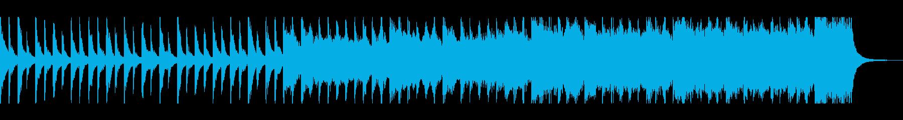 混沌/カオス/幻想:ピアノ・ストリングスの再生済みの波形