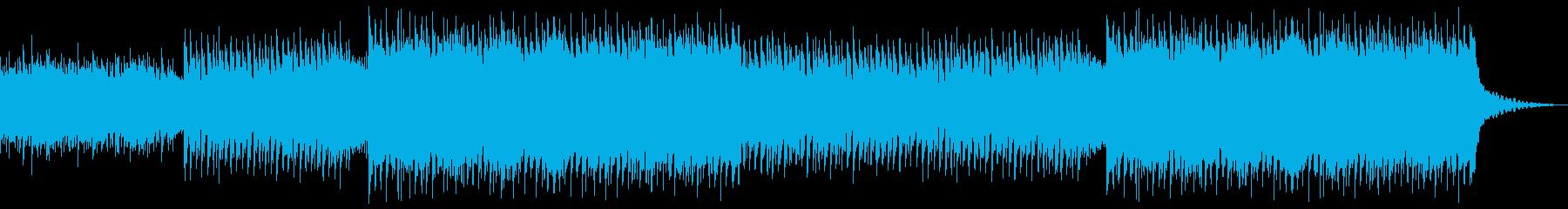 企業VP系102、爽やかギター4つ打ちaの再生済みの波形