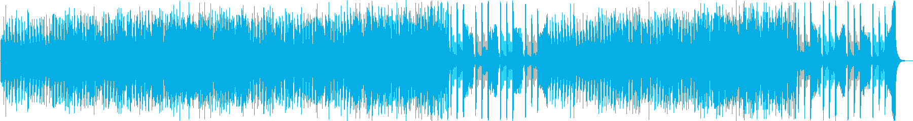 Comical and warm theme park style stage music's reproduced waveform
