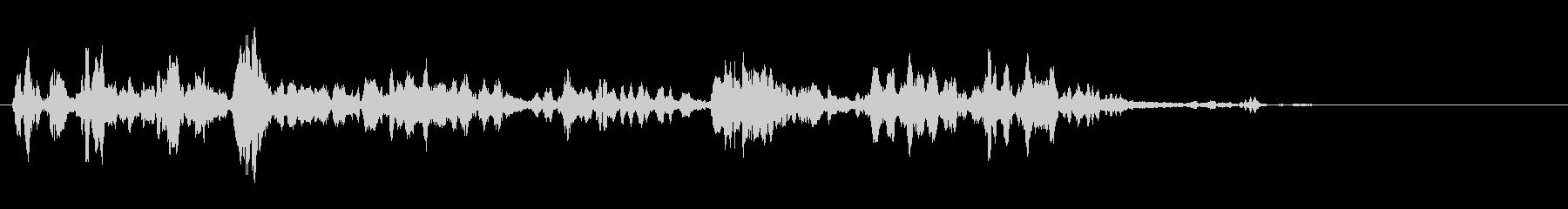 KANT 鳥のロボット声効果音1の未再生の波形