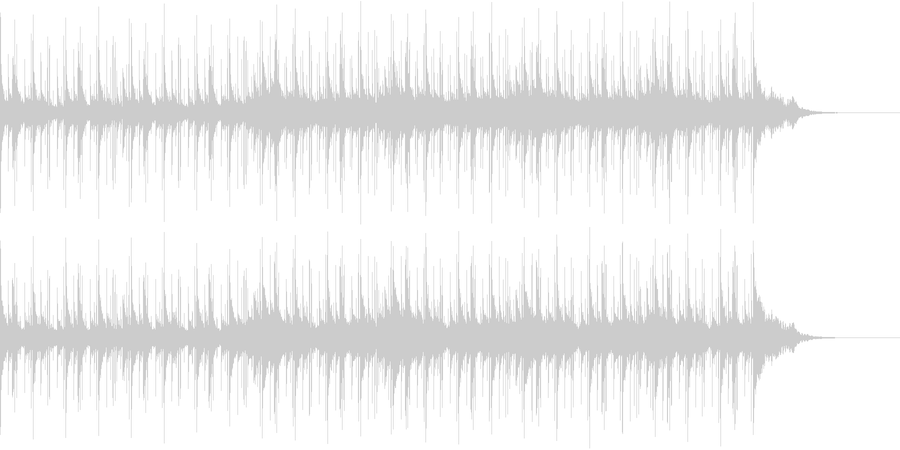 Pf「回転」和風現代ジャズの未再生の波形