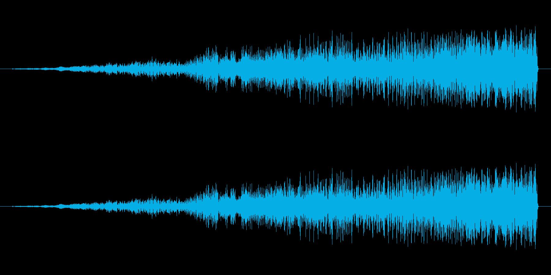 シュァァァ〜ブ〜シュァプッ(機械音)の再生済みの波形