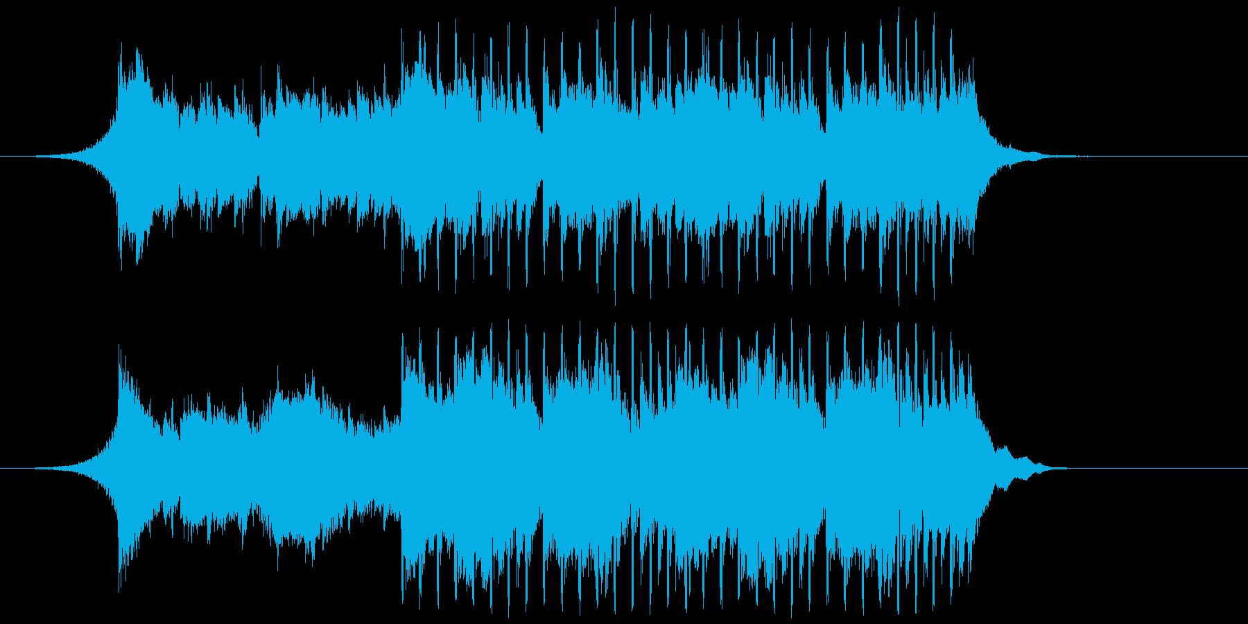 【爽やか】努力で乗り越える応援BGMの再生済みの波形