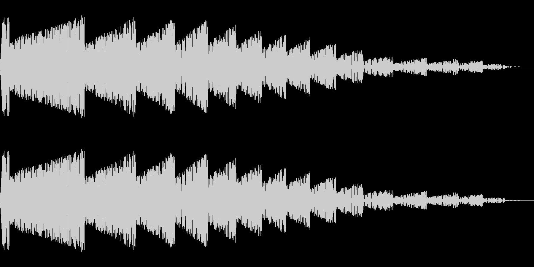 バシーン(爆発/ノイズ/爆風/嵐/攻撃の未再生の波形