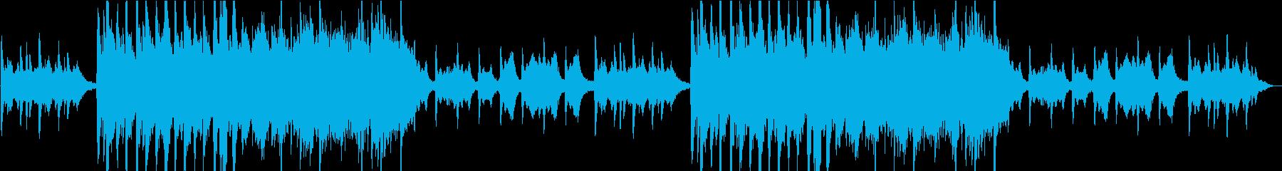 不思議の国のようなダークメルヘン曲の再生済みの波形