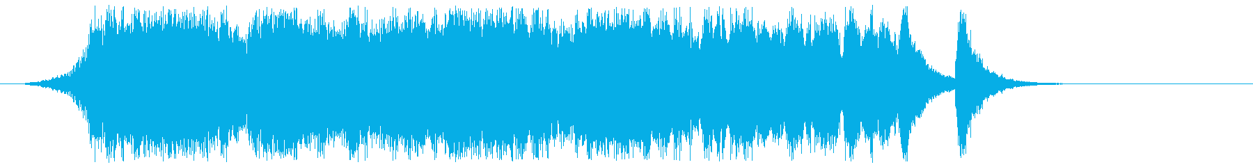 Fanfare and Orchestra's reproduced waveform