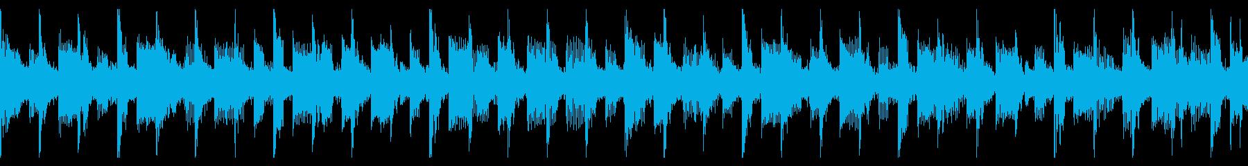シンセウェイヴ 80'sのループの再生済みの波形