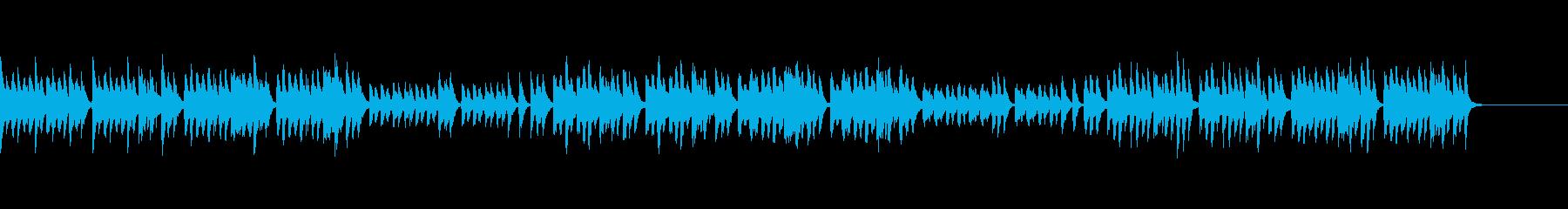 おとぎの国の雰囲気のBGM(クラシカル)の再生済みの波形