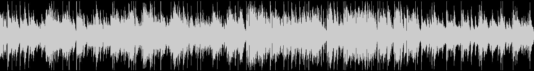 ミディアムテンポの素敵なジャズ※ループ版の未再生の波形