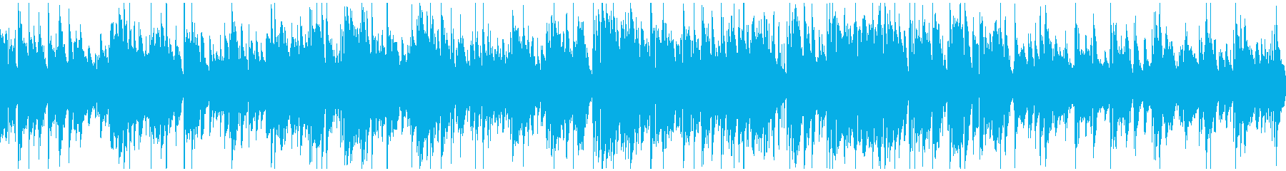 ミディアムテンポの素敵なジャズ※ループ版の再生済みの波形