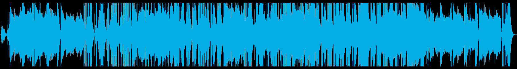 80年代LAロック的スキャットの利いた曲の再生済みの波形