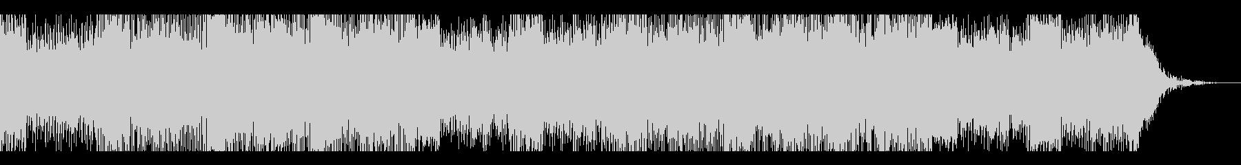 海外ゲーム風ダークSFエピックエレクトロの未再生の波形