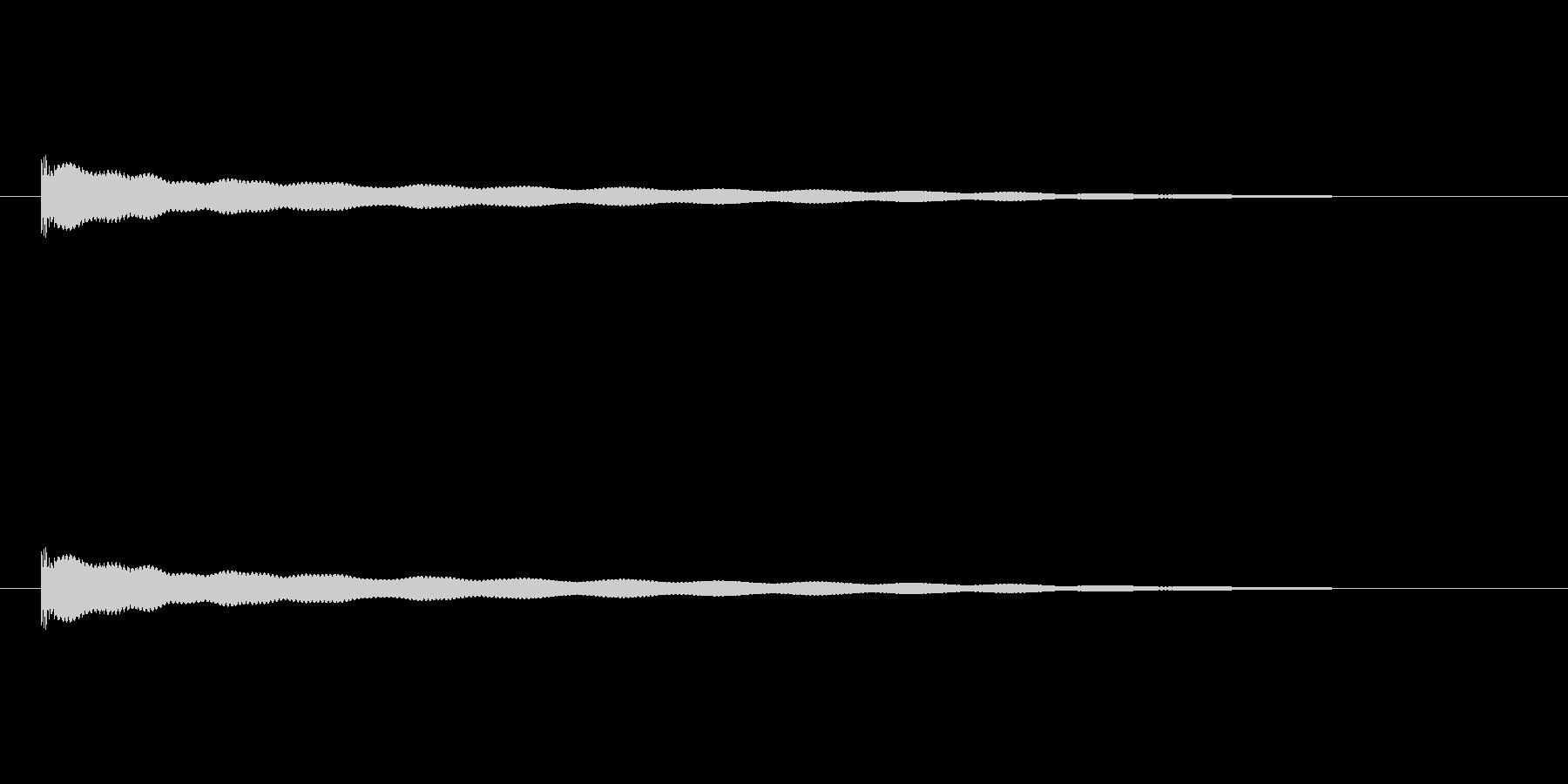 【チーン04-2】の未再生の波形