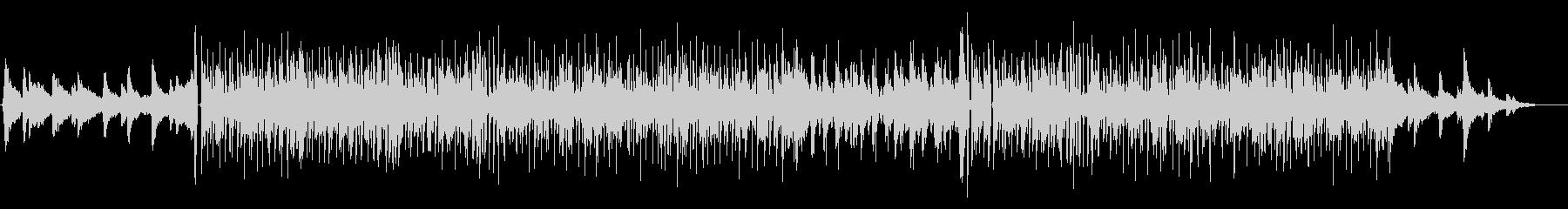 ミドルテンポで軽快なソウル調の曲の未再生の波形