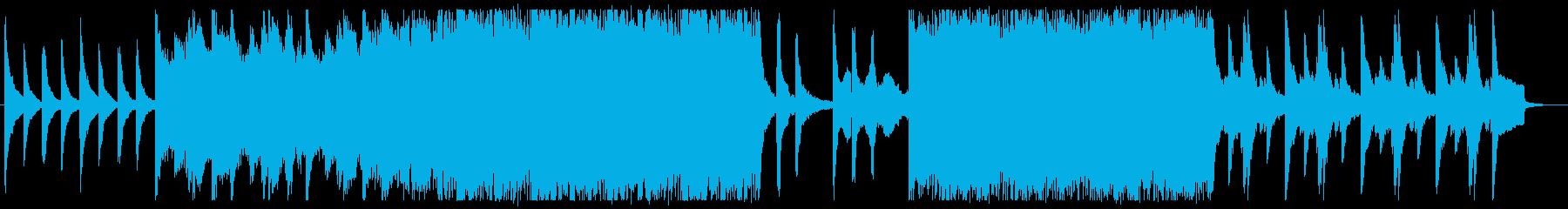 主旋律がストリングのポップロックの再生済みの波形
