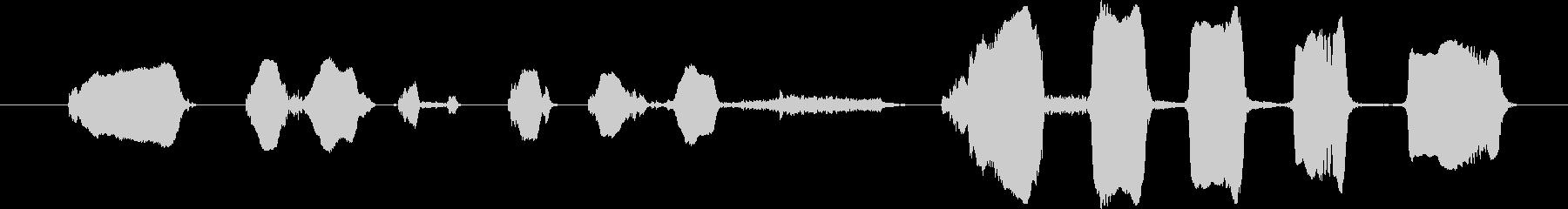 鳴き声 男性泣く呼吸ハード01の未再生の波形