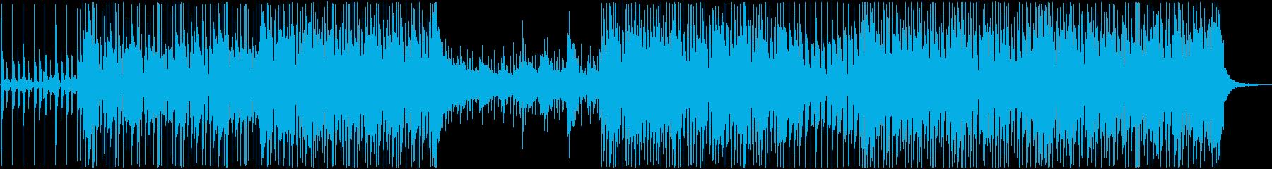 ハンドクラップが特徴的な爽やかサウンドの再生済みの波形