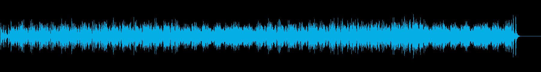 ジプシー風アコースティカルなポップの再生済みの波形