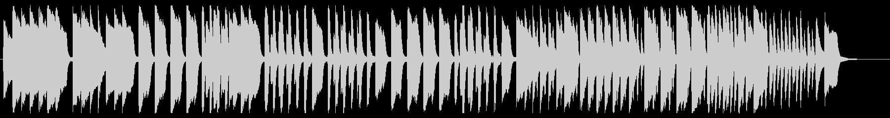 かえるの合唱 ピアノver.の未再生の波形