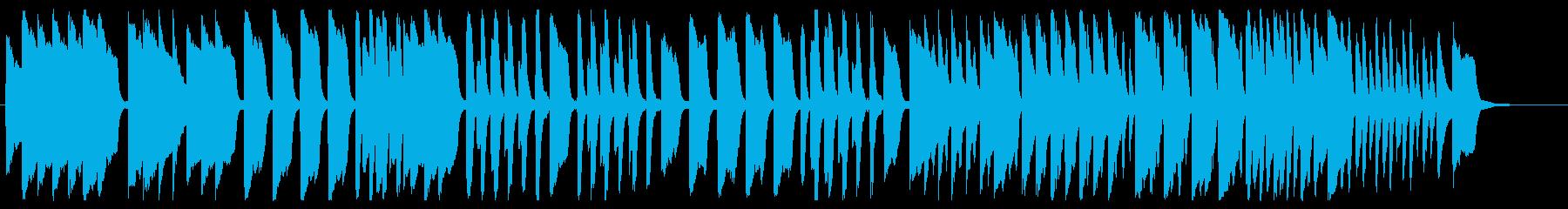 かえるの合唱 ピアノver.の再生済みの波形