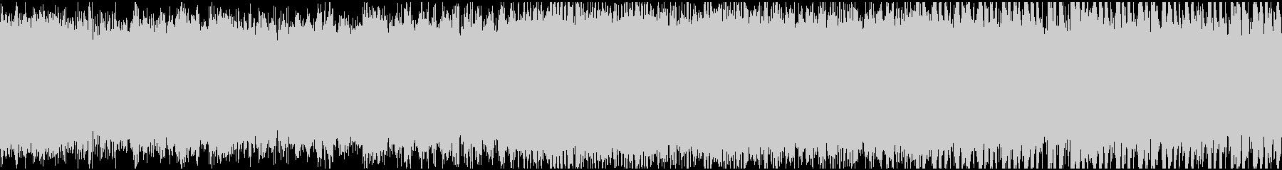 ゲーム(ループ):ピンチ!不安、恐怖の未再生の波形