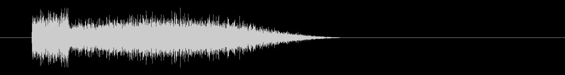 レーザー音-73-3の未再生の波形