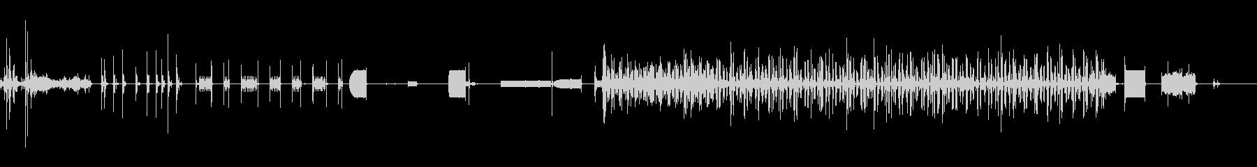 ファックス機-送信-オフィスの未再生の波形