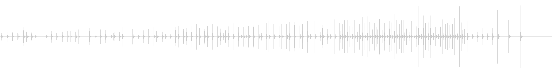 木琴13歌舞伎黒御簾下座音楽和風日本マリの未再生の波形
