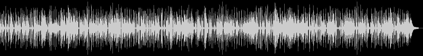 おしゃれに安らぎを与えるピアノ・ソロの未再生の波形
