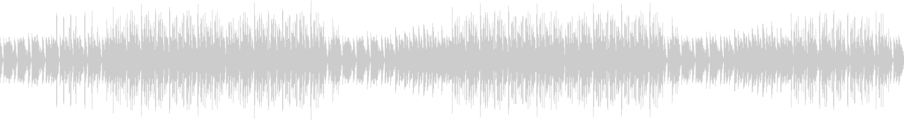エンディング・ピアノ・ヒップホップ・夜の未再生の波形