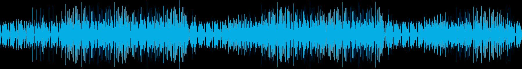 エンディング・ピアノ・ヒップホップ・夜の再生済みの波形