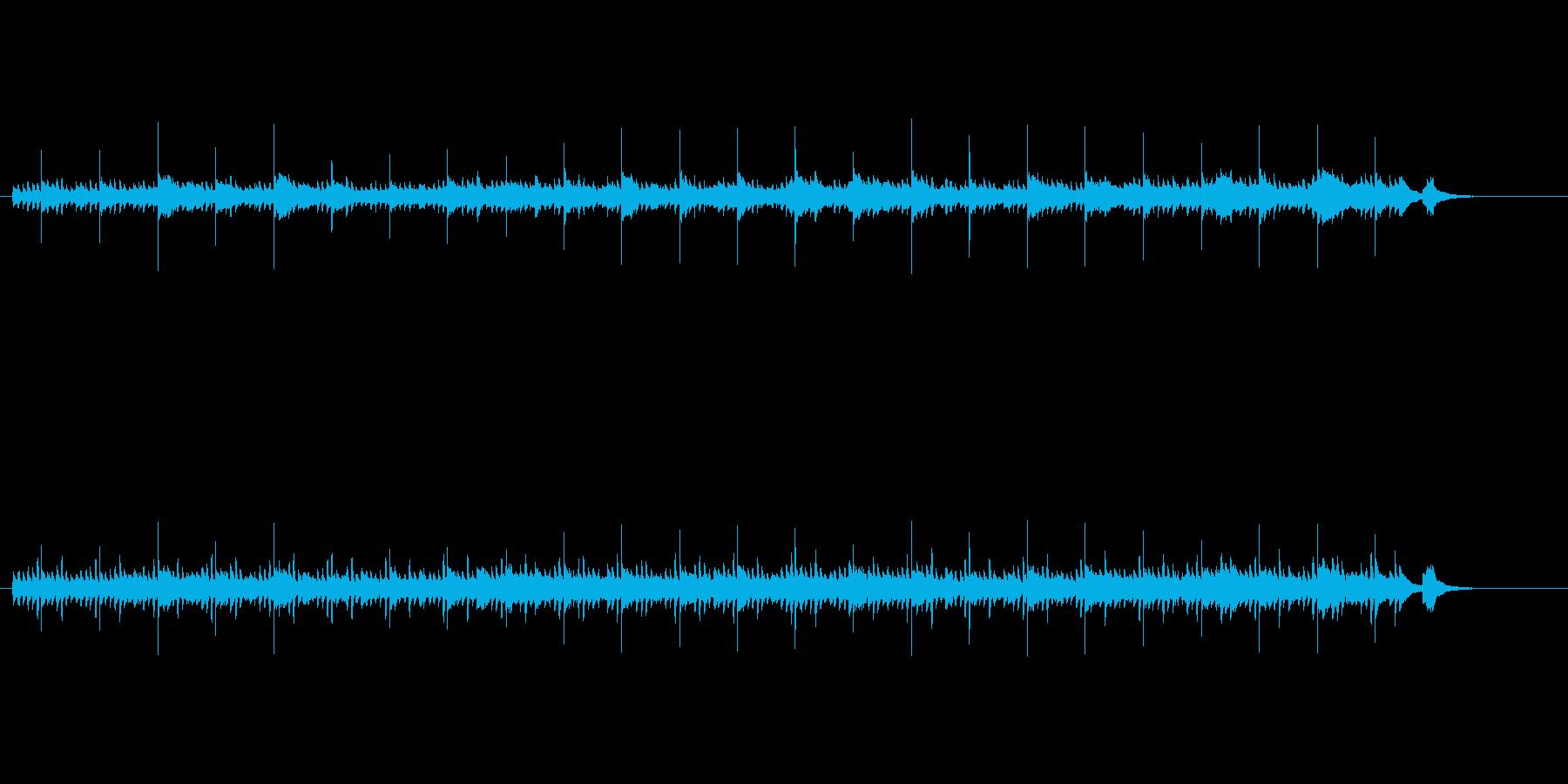 ハープの美しい音色が神秘的なアンビエントの再生済みの波形
