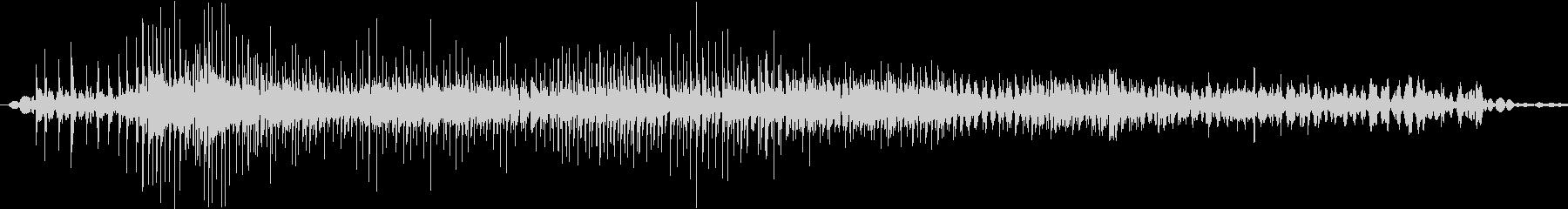 ジー(ジッパーの音※ゆっくり長め)の未再生の波形
