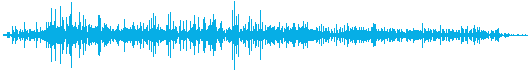 ジー(ジッパーの音※ゆっくり長め)の再生済みの波形