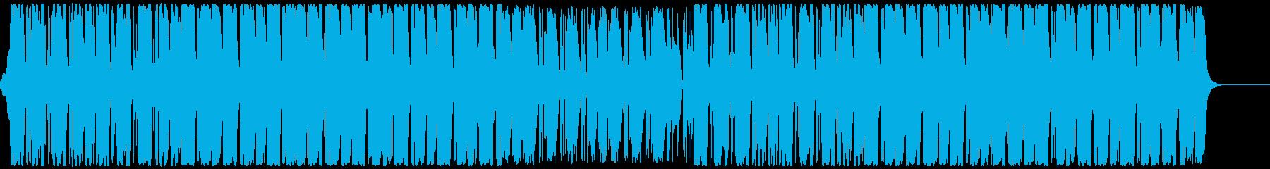 モダンなクラブ系サウンド CM・企業VPの再生済みの波形